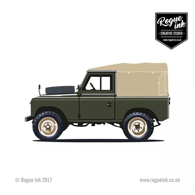 Classic Land Rover Series 1 Inspired T-Shirt Artcars