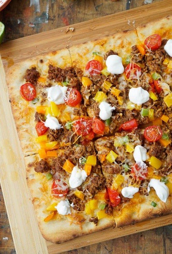 Taco Pizza | Food Recipes