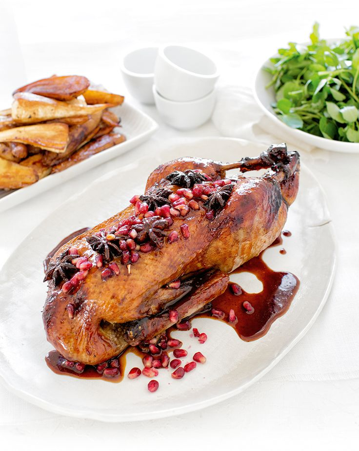 Sweet & Sour Slow-Roasted Duck