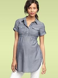 Maternity Clothing: Shirts   Gap