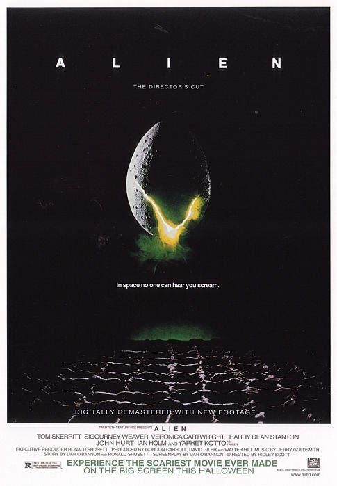 "Alien (1979) | ""I can't lie to you about your chances, but... you have my sympathies."""