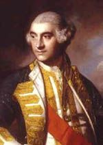 Vice Admiral of the Blue, Charles Saunders.  Naval commander during the Quebec campaign 1759.