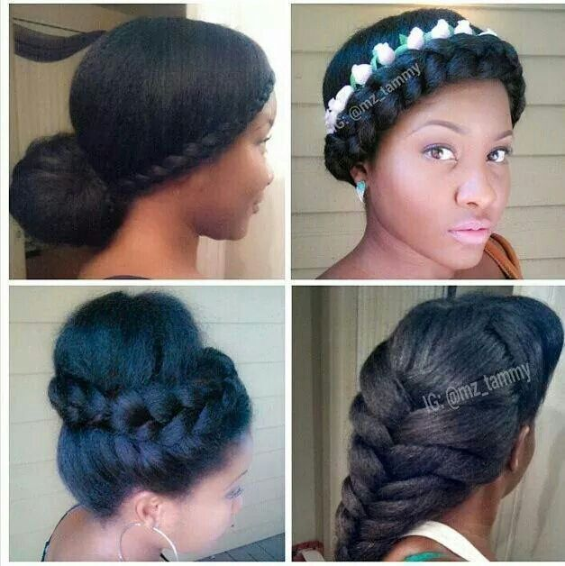 Awe Inspiring 1000 Images About Cute Natural Hair Styles On Pinterest Hairstyle Inspiration Daily Dogsangcom
