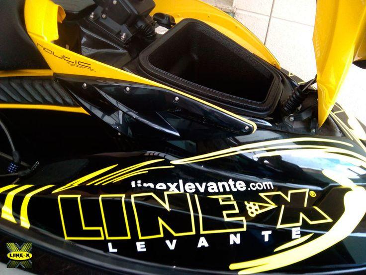 protección compartimento de carga de moto de agua con #LINEXProtect