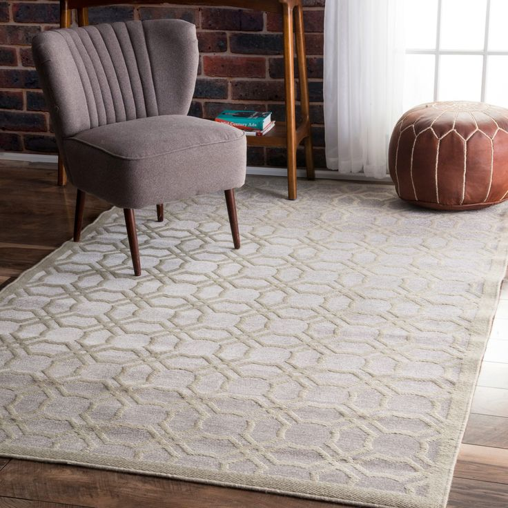 Spruce Up Your Floor Covering With This Beautiful Grey And