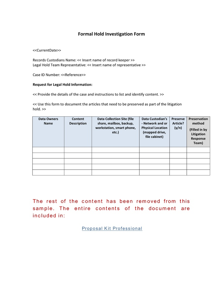 42 best Records Management Toolkit images on Pinterest Cleaning - management proposal