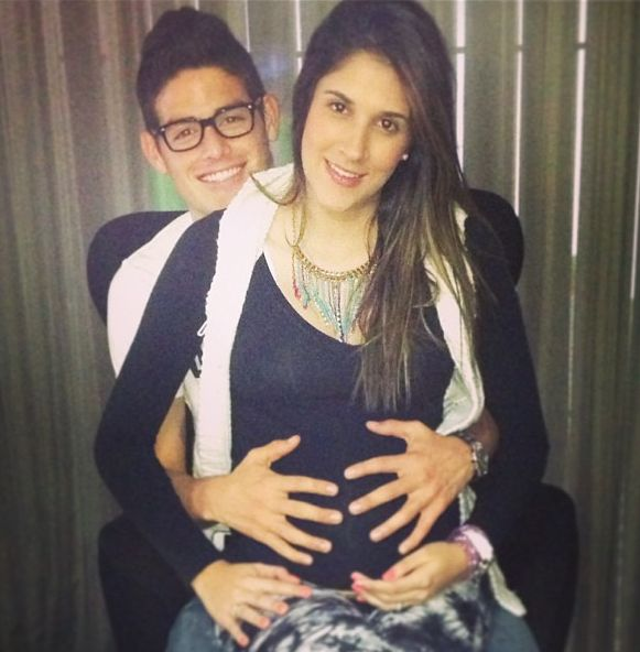 James Rodriguez Pregnant Wife Daniela Ospina