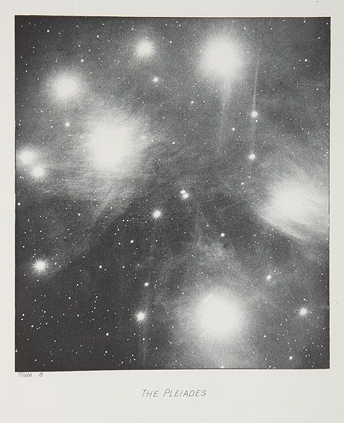 the pleiades... and that scary sense of disoriented wonder when you look up at the stars