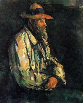 Paul Cézanne - Portrait of Vallier