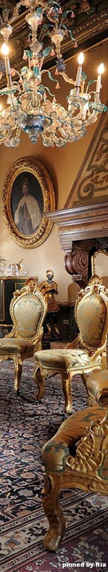Hotel Danieli, Royal Suite l Once The Palazzo Dandolo Palace In Venezia, Italia l Ria
