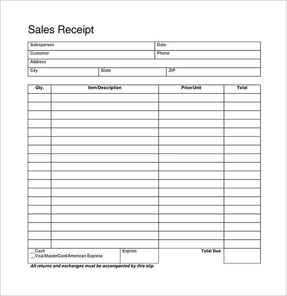 Free Printable Sales Receipt Template Blank Receipt Template 20 Free Word Excel Pdf Vector Receipt Template Free Receipt Template Template Design