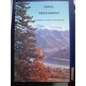 Romanian New Testament / Noul Testament Al Domnului Nostru Isus Hristos