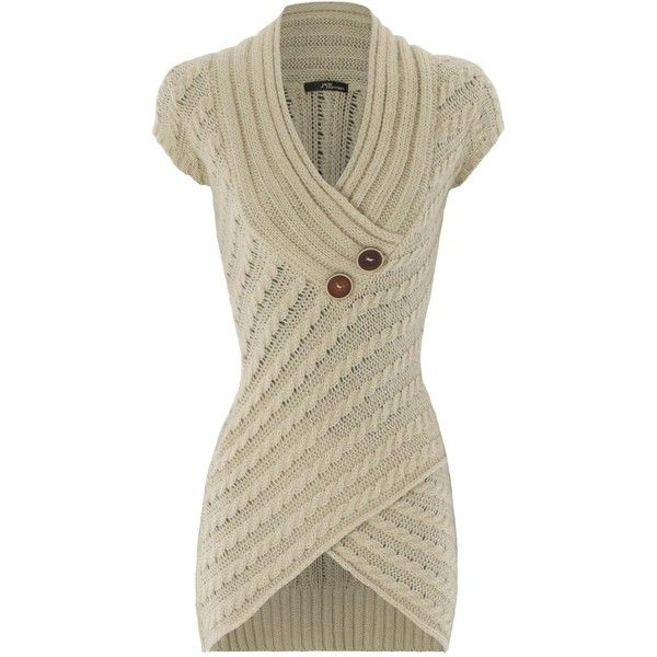 cable knit asymmetric jumper ($24)
