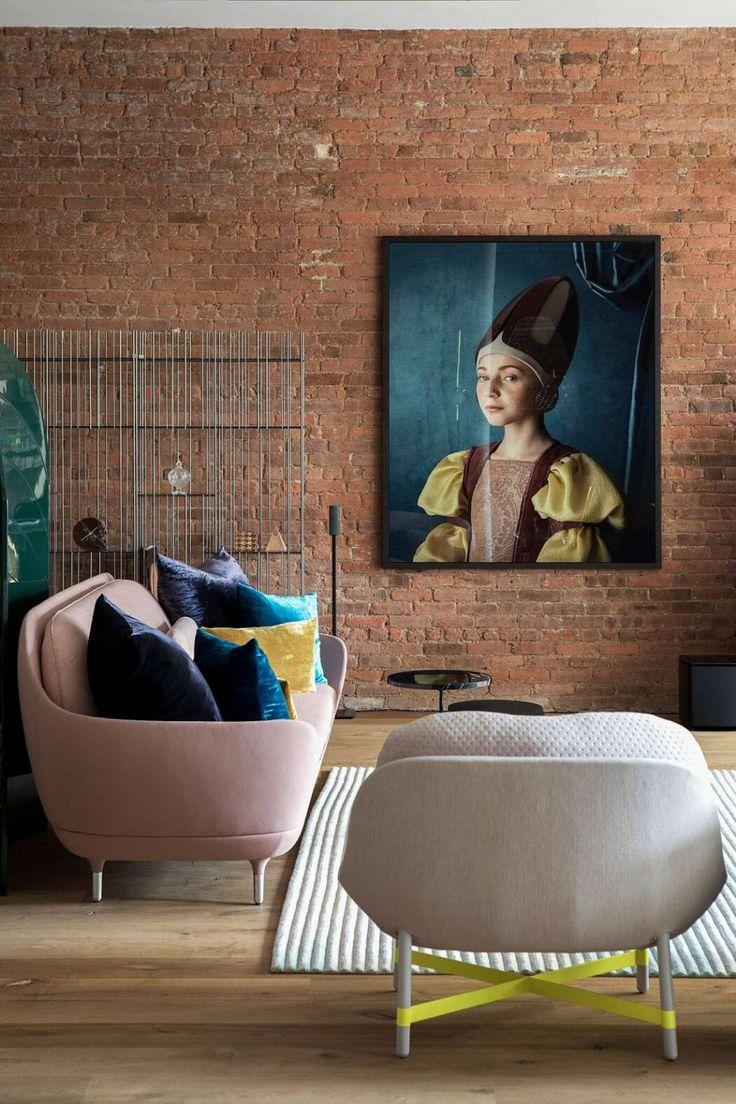 SoHo Loft por Studiolav   – LIVING ROOMS