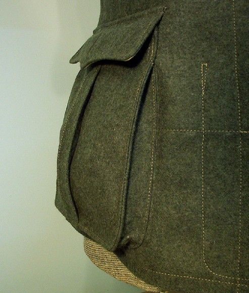 Six Types of Pockets that can be Incorporated onto a Jacket | THE ...