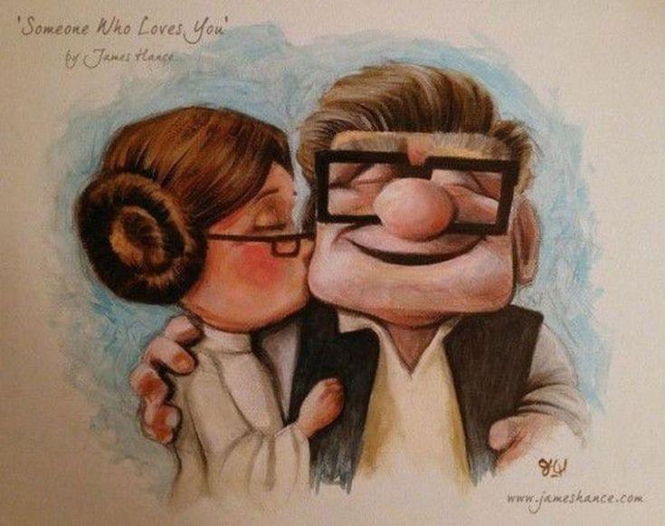 Star Wars v. Disney Mashup. Aaaand I'm crying.