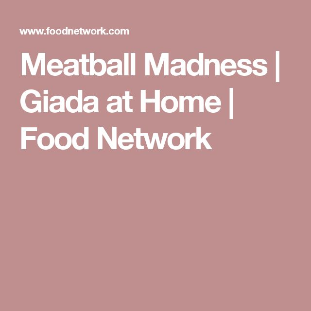 Meatball Madness | Giada at Home | Food Network