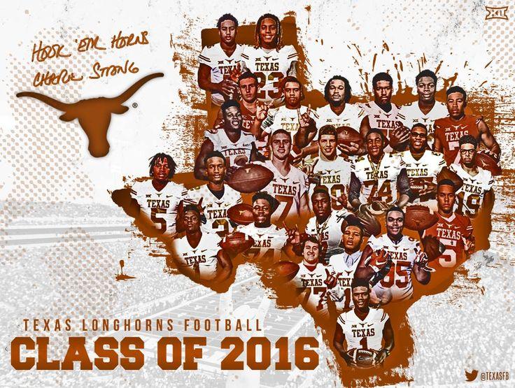 Texas Football - Class of 2016 - #NSD2016 - #letsride - #believe