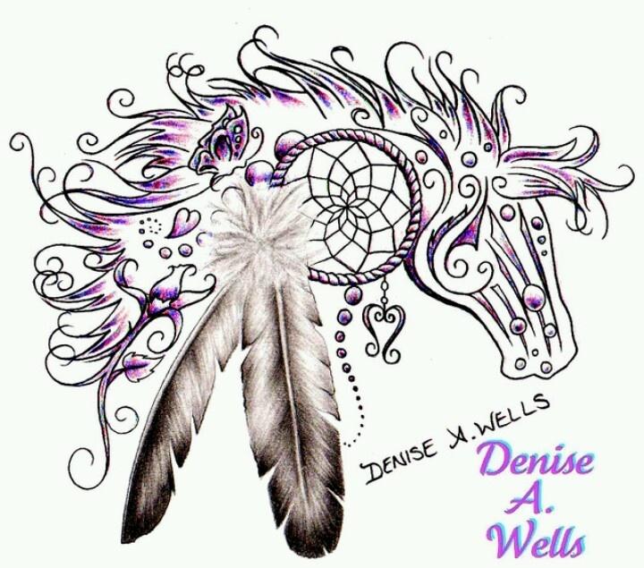 beautiful tribal horse design tattoo ideas pinterest beautiful colors and the o 39 jays. Black Bedroom Furniture Sets. Home Design Ideas