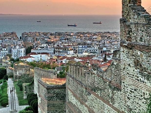 Thessaloniki - view from Heptapyrgion