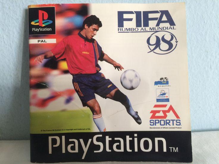FIFA Rumbo al Mundial 98 manual.