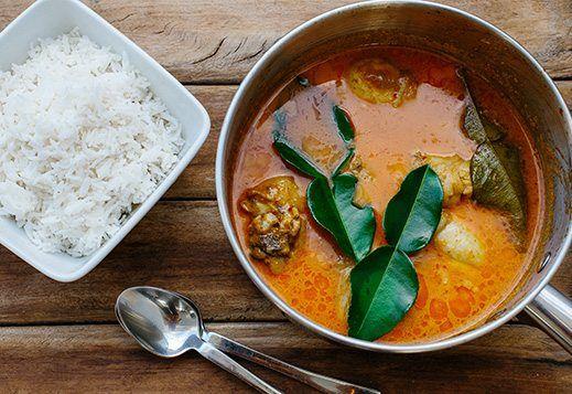 Anti-Inflammatory Chicken Red Curry
