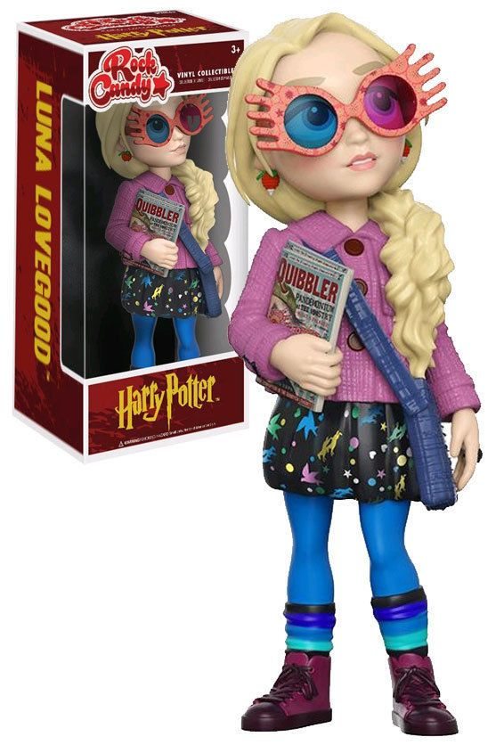 Funko Rock Candy Harry Potter Luna Lovegood #Funko #HarryPotter #Collectibles