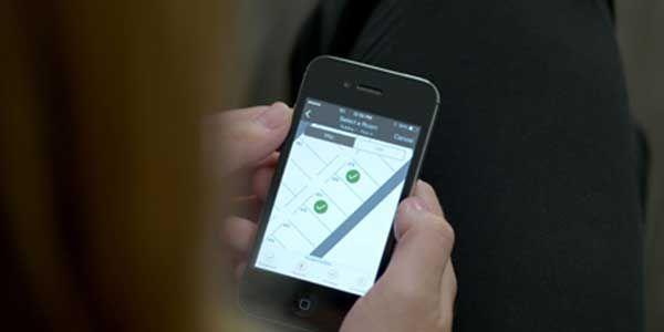 Hilton smartphone key