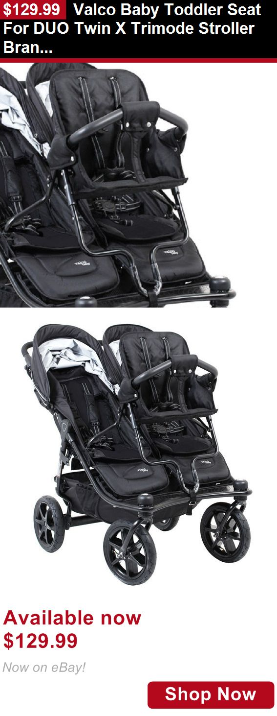 Strollers: Valco Baby Toddler Seat For Duo Twin X Trimode Stroller Brand New!! BUY IT NOW ONLY: $129.99