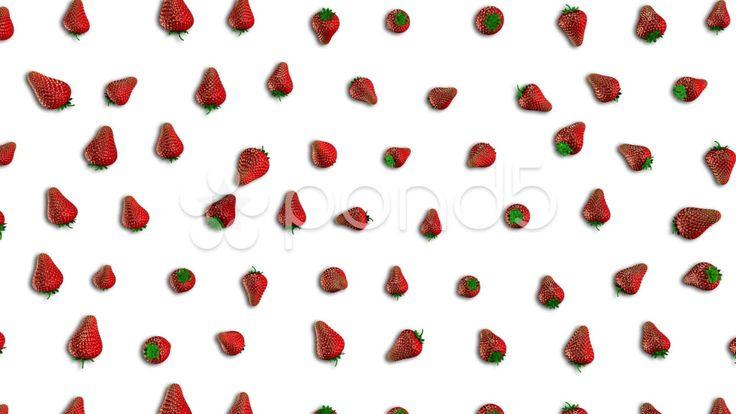 Fresh Strawberry Loop - Stock Footage | by maraexsoft