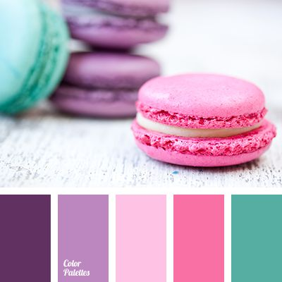 Beautiful cheerful palette. Bright colors cheer up, are beneficial to health, and generally pleasing the eyes. Purple, lilac, shades of pink, mint - a motl.