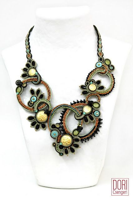 Amazing Soutache Jewelry by Dori Csengri