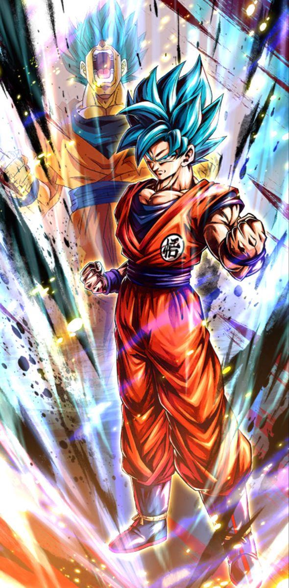 Ssj Blue Goku Future Trunks Saga Pantalla De Goku Imagenes De Goku Dibujo De Goku