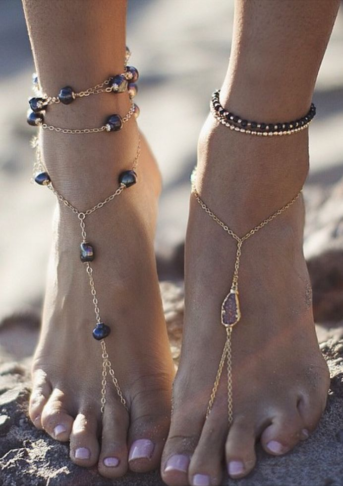 Pretty anklet