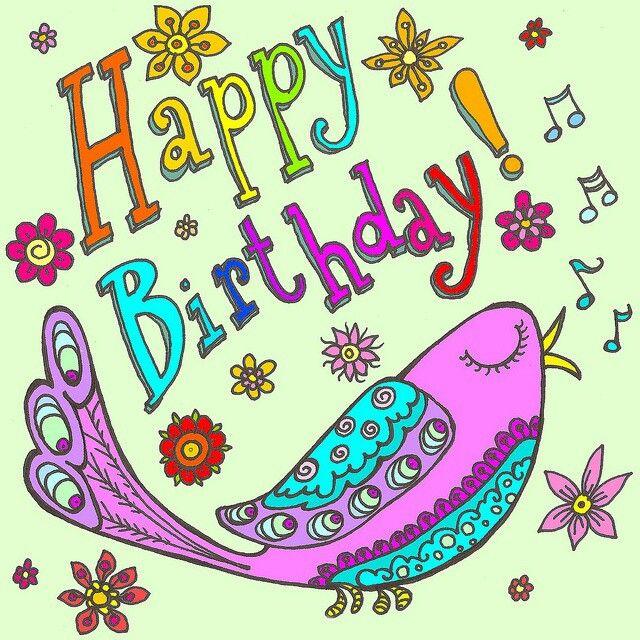 *Happy Birthday! Bird Singing