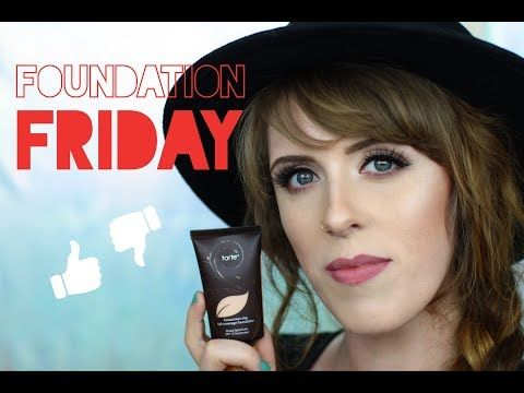 Tarte Amazonian Clay foundation REVIEW & DEMO | Combination Skin - YouTube