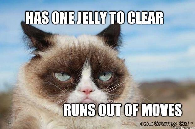 Candy Crush Grumpy Cat