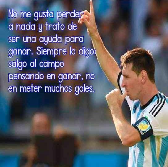 Imagenes Bonitas De Futbol Con Frases 5 Futbol Messi Y Lionel