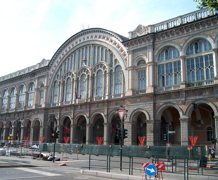 Stazione porta nuova torino 1860 torino pinterest - Torino porta nuova stazione ...