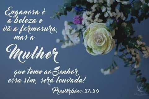 Provérbios 31:30 www.selmatabita.com