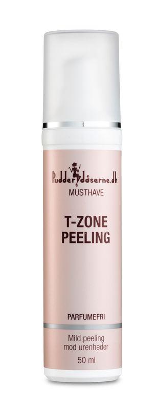 Ansigtscreme fra Pudderdåserne - T-zone peeling (kan blandt andet købes i Matas)