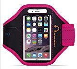 iPhone 6s / 6 Armband, Sports Running Armband for iPhone 7, 6s, 6, 5, Galaxy S7, S6, S6 edge, S5 and Other Smartphones, Lightweight, Sweat Resistant, Responsive Screen Protector with Key Holder