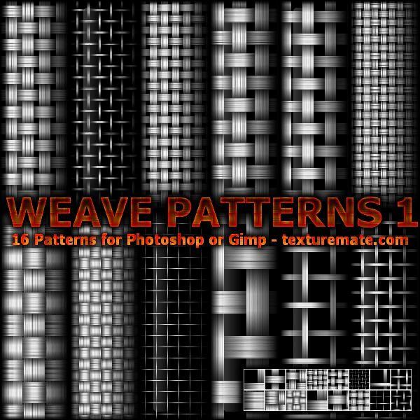Weave Patterns 1 by AscendedArts