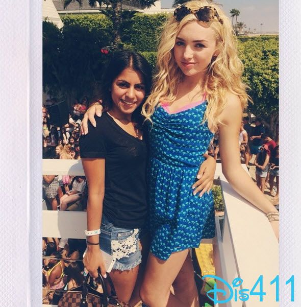 Photos: Peyton List At The Hollister House With Sabreena ...