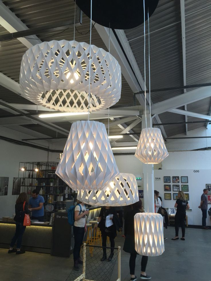 Pilke lights from Finland at the London Design Festival