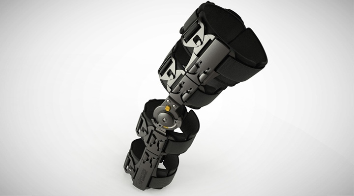 Support in style, post Operative Knee brace for Pacific Medical : Design & Engineering by Lumium