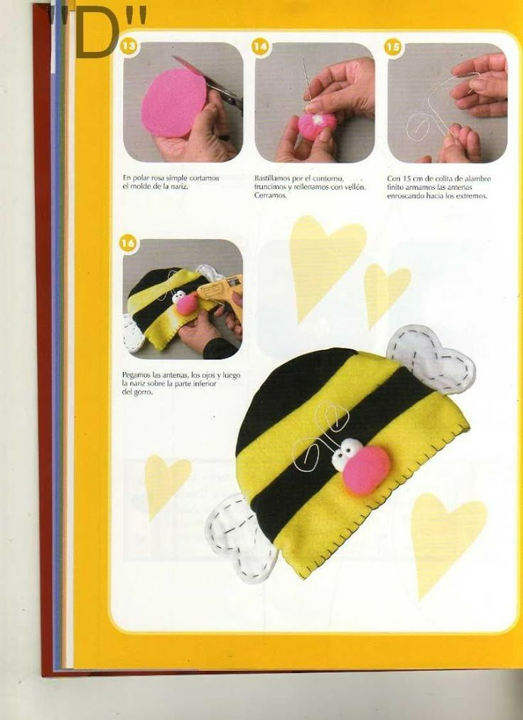 Picasa Web Albums | Bee hat, Free sewing, Baby hats