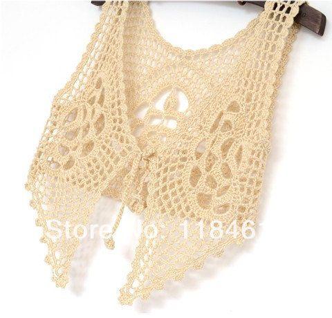 Hippie flecos Tank top, encajes de ganchillo flecos cordón del chaleco del verano de la playa círculo Crochet en Camisetas de Tirantes de Moda y Complementos Mujer en AliExpress.com | Alibaba Group