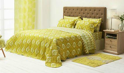 Colcha Estampada Espino Verde. Visítanos en tuakiti.com #colcha #quilt #decoracion #homedecor #hogar #home #habitacion #bedroom #tuakiti
