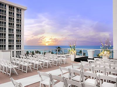 Westin Beach Resort And Spa Ft Lauderdale Pompano Weddings Florida Wedding Venues 33304